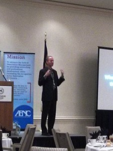 2014 AENC GA Symposium Luncheon Speaker Matt Tenney